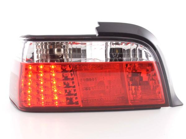 Led Rückleuchten BMW 3er Coupe Typ E36 Bj. 91-98 klar/rot