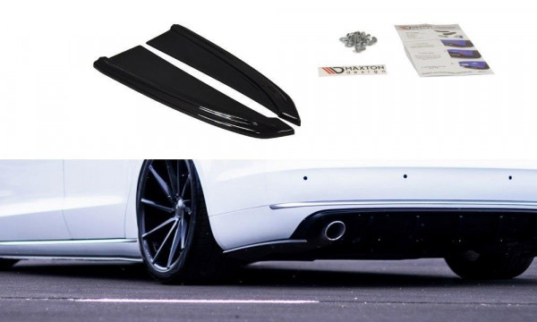 Heck Ansatz Flaps Diffusor Passend Für Audi A8 D4 Carbon Look