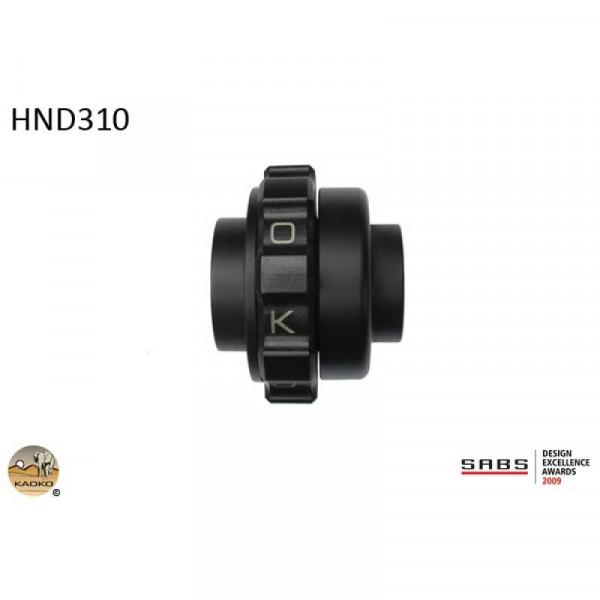 """Kaoko Gasgriff-Arretierung """"Drive Control"""" für HONDA Africa Twin CRF1000L , Africa Twin Adventure Sp"""