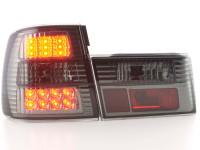 LED Rückleuchten Set BMW 5er Typ E34 Bj. 88-94 schwarz