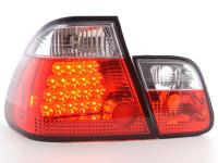 LED Rückleuchten Set BMW 3er Limousine Typ E46 98-01 klar/rot