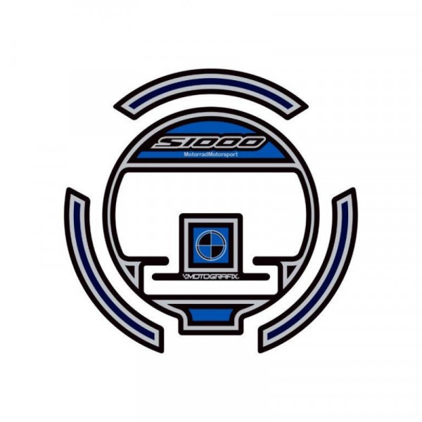 Motografix Tankdeckel Protektor BMW S1000RR 2009-2018 BGC001BK