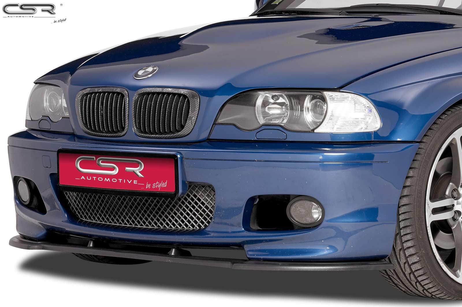 Cupspoilerlippe mit ABE für BMW 3er E46 CSL173