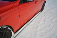 Seitenschweller Ansatz Passend Für BMW 3er F30 Schwarz Matt