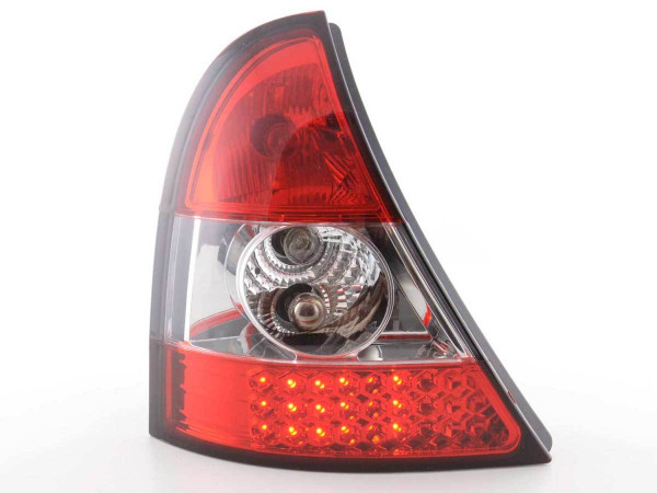 LED Rückleuchten Set Renault Clio Typ B Bj. 01-04 klar/rot
