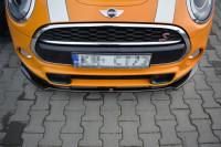 Front Ansatz Für MINI COOPER S MK3 Vor Facelift 3-Türer (F56) Schwarz Hochglanz