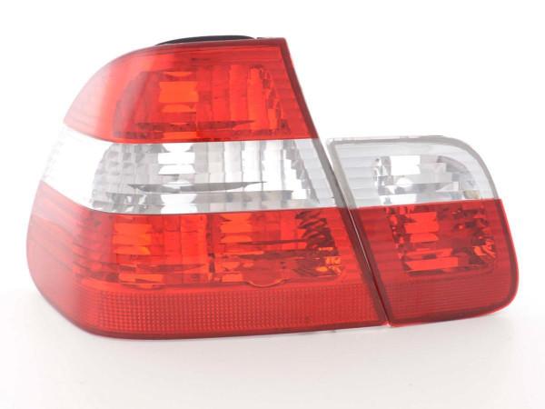 Rückleuchten Set BMW 3er Limo Typ E46 01-05 weiß/rot