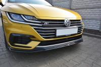 Front Ansatz Für V.1 VW ARTEON Schwarz Hochglanz