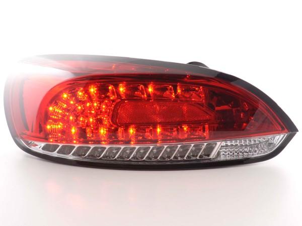 LED Rückleuchten Set VW Scirocco 3 Typ 13 Bj. 08- rot/klar