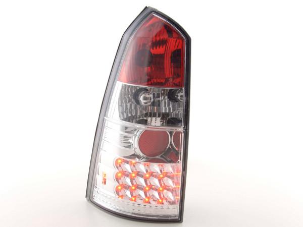 LED Rückleuchten Set Ford Focus Turnier DNW Bj. 98-04 chrom