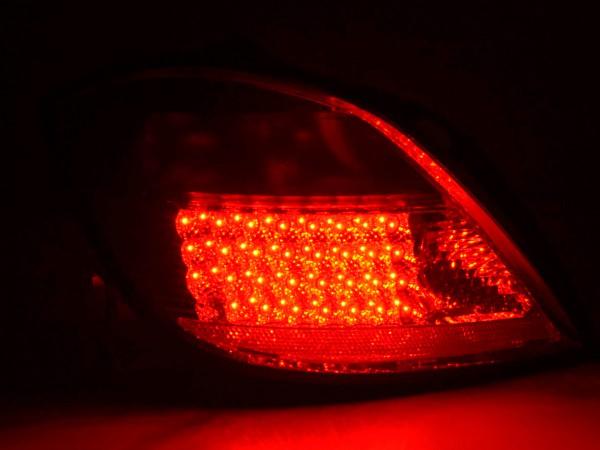 LED Rückleuchten Set Opel Astra H 5-trg Bj. 04- rot/schwarz