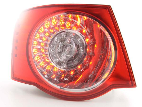 Verschleißteile Rückleuchte links VW Jetta 5 Typ 1KM Bj. 05- klar/rot
