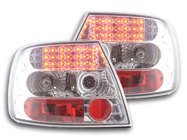 LED Rückleuchten Set Audi A4 Limousine Typ B5 95-00 chrom