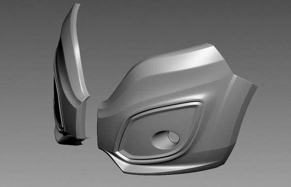 Front Stoßstange FIAT DUCATO III Facelift