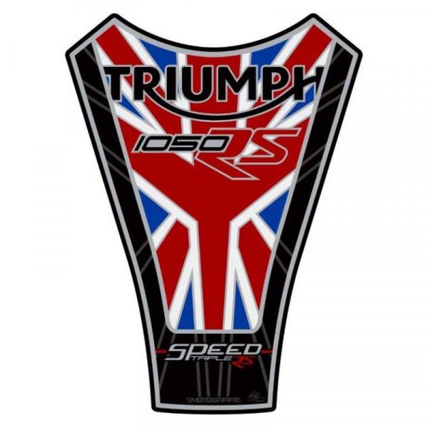 Motografix Triumph Speed Triple 1050 RS 3D Gel Tank Pad Protector TT033UJ