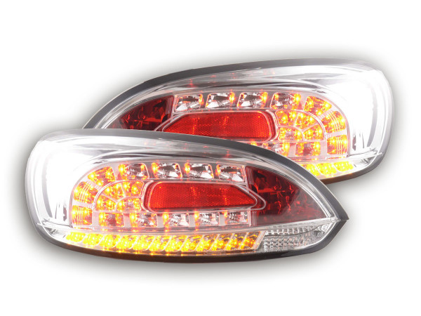 LED Rückleuchten Set VW Scirocco 3 Typ 13 Bj. 08- chrom