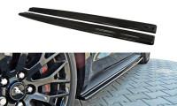 Seitenschweller Ansatz Passend Für Ford Mustang GT Mk6 Schwarz Matt