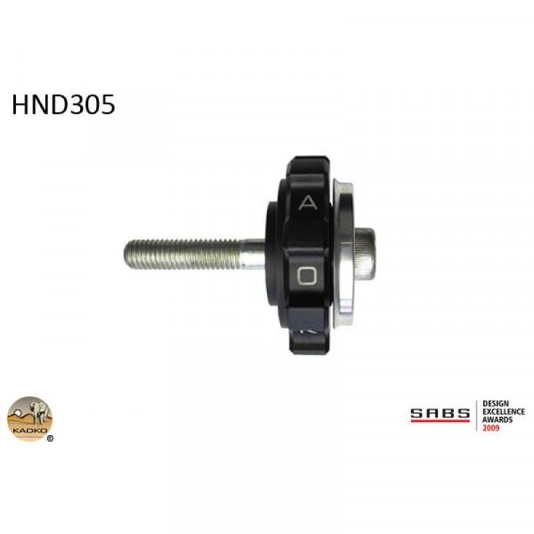 """Kaoko Gasgriff-Arretierung """"Drive Control"""" für HONDA VRF750 RC36"""