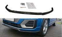 Front Ansatz Passend Für Audi Q2 Mk.1 Schwarz Hochglanz