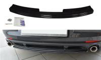 Mittlerer Diffusor Heck Ansatz Passend Für Renault Laguna Mk 3 Coupe Schwarz Hochglanz