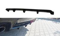 Diffusor Heck Ansatz Passend Für Lexus RC F Schwarz Hochglanz