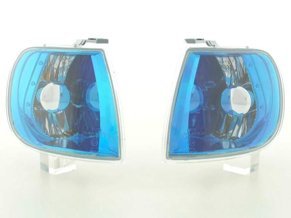 Frontblinker Blinker Set VW Polo Typ 6N Bj. 95-98 blauchrom