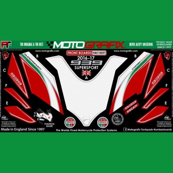 Motografix Steinschlagschutz vorn Ducati Supersport 939 2017- ND018SRT