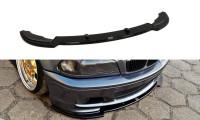 Front Ansatz Passend Für BMW 3er E46 M Paket COUPE Schwarz Matt