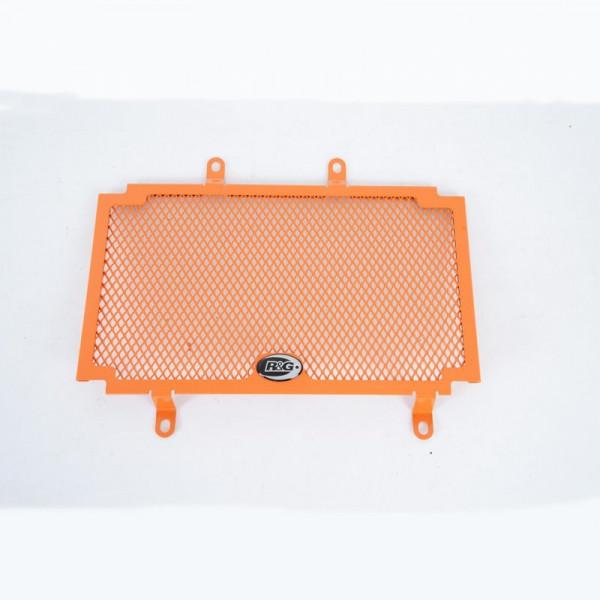 """R&G Kühlergitter """"Orange"""" Wasserkühler KTM Duke 390 2017- / Husqvarna Vitpilen / Svartpilen 401"""