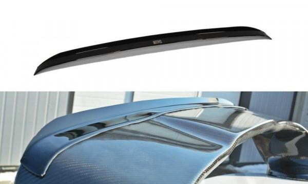 Spoiler CAP Passend Für Mitsubishi Lancer Evo X Schwarz Matt