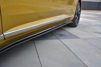 Seitenschweller Ansatz Für VW ARTEON Schwarz Hochglanz