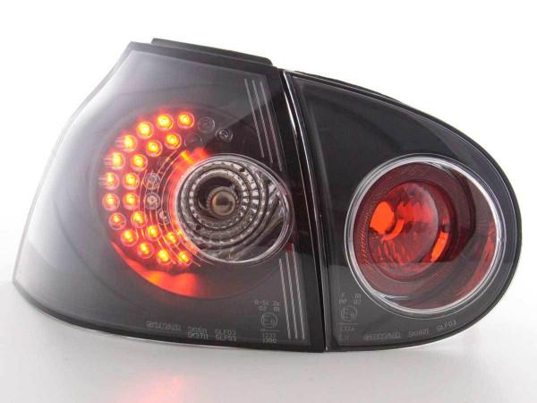 LED Rückleuchten Set VW Golf 5 Typ 1K Bj. 2003-2008 schwarz