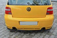 Mittlerer Diffusor Heck Ansatz Für VW GOLF 4 R32 Carbon Look