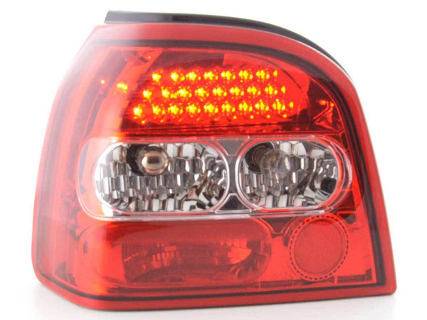 LED Rückleuchten Set VW Golf 3 Typ 1HXO 92-97 klar/rot