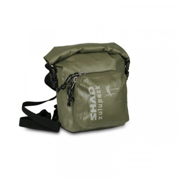 SHAD SW05 Zulupack Umhänge- / Schulter Tasche Khaki Wasserdicht 5 Liter