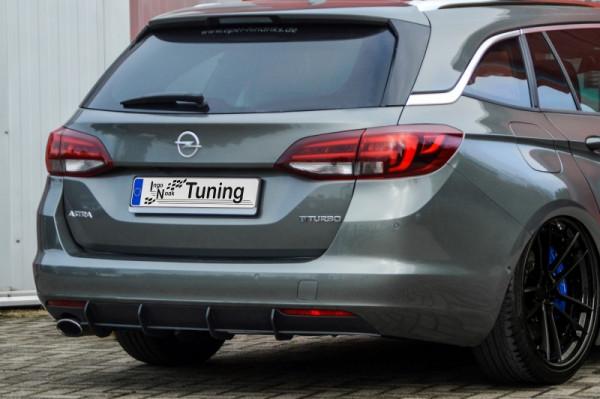 Gefräster Heckansatz für Opel Astra K Sportstourer ab Bj. 2015-2019