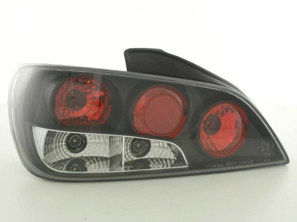 Rückleuchten Set Peugeot 406 4-trg. Typ 8*** Bj. 95-98 schwarz