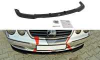 Front Ansatz Passend Für MERCEDES CL-KLASSE C215 Schwarz Hochglanz