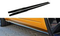 Seitenschweller Ansatz Passend Für RENAULT MEGANE II RS Carbon Look