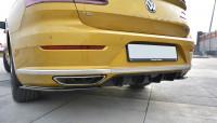 Diffusor Heck Ansatz Für VW ARTEON Schwarz Hochglanz