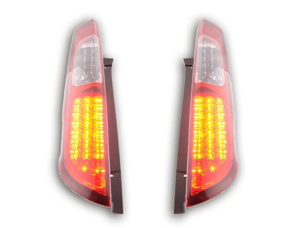 LED Rückleuchten Set Ford Focus 2 5-türig Bj. 04-08 rot/klar