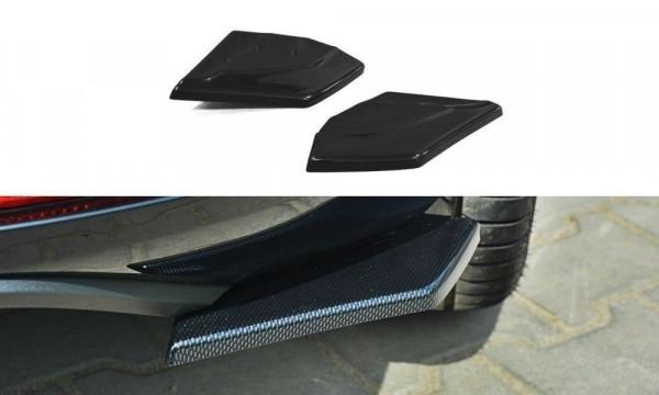 Heck Ansatz Flaps Diffusor Passend Für SEAT LEON III CUPRA / FR Carbon Look