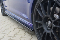 Seitenschweller Ansatz Für VW GOLF 7 R HATCHBACK & Kombi Schwarz Hochglanz