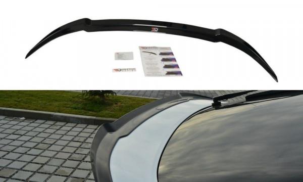Spoiler CAP Passend Für Honda Civic Mk9 Facelift Schwarz Matt