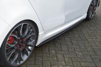 CUP Seitenschweller für Opel Astra K Sportstourer ab Bj. 2015-2019 Ausführung: Matt schwarz