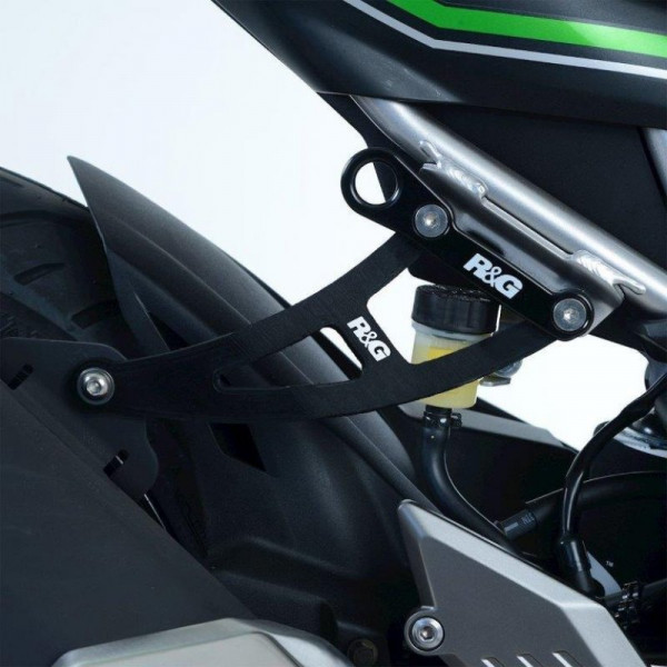 R&G Racing Auspuffhalter Set Kawasaki Z 125 2019- / Ninja 125 2019-