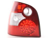 LED Rückleuchten Set VW Polo Typ 9N 01-05 rot/klar