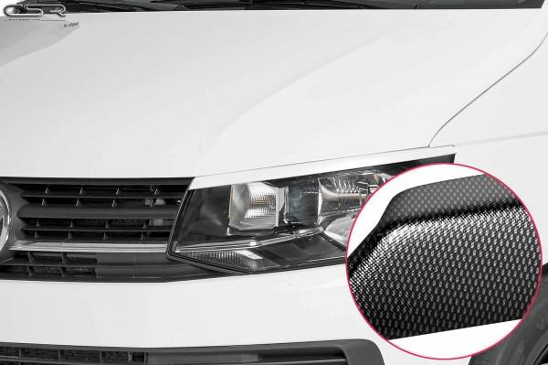 Scheinwerferblenden Carbon Look für VW T6 Bus SB250-C