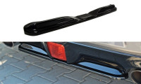 Mittlerer Diffusor Heck Ansatz Passend Für Nissan 370Z Schwarz Matt