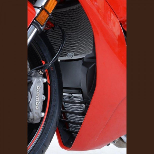 R&G Kühler & Ölkühler Schutz Set Ducati Supersport 2017-